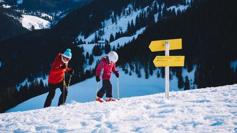esqui de travesia o montana skimo