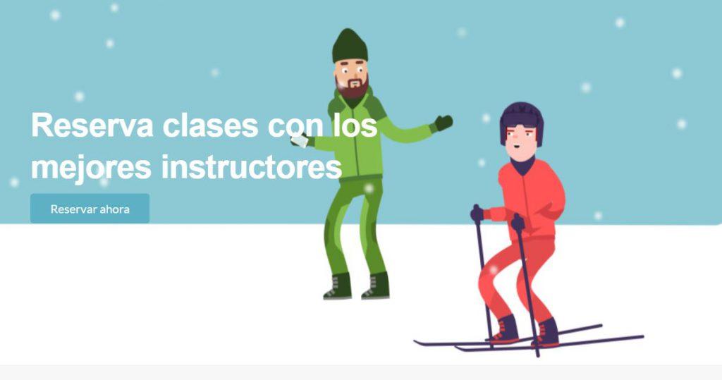 reservar clases de esqui con tuinstructor