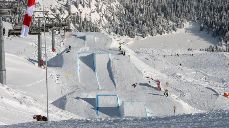 slopestyle esqui freestyle