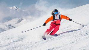 esqui carving tecnica material