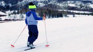 como esquiar con niños